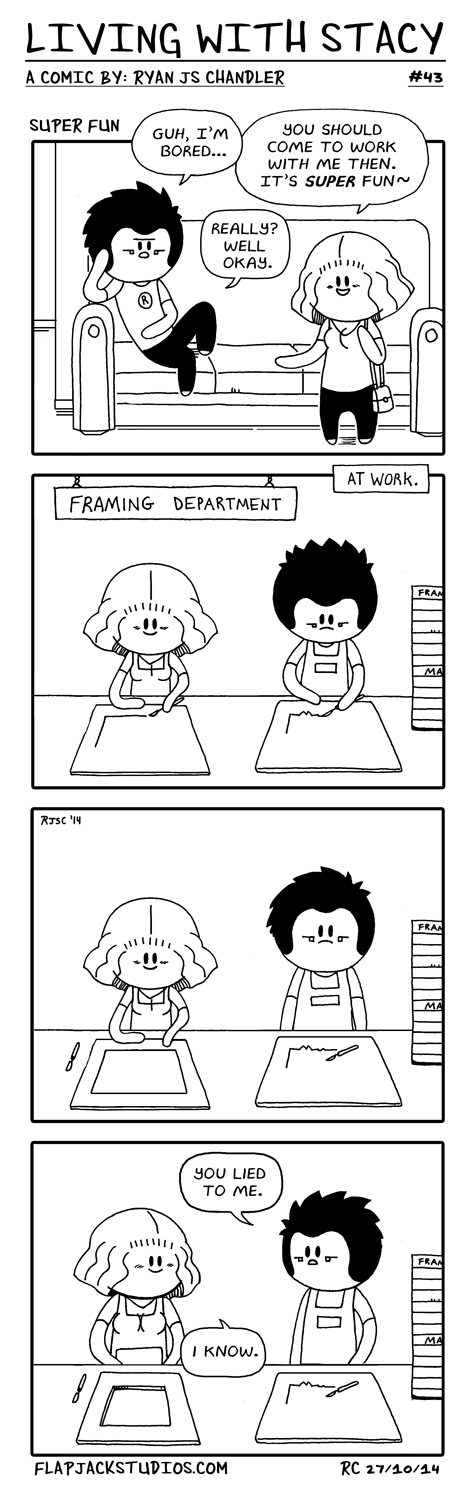 Living With Stacy #41 - Topwebcomic 43 Super Fun Ryan and Stacy Cute and Adorable