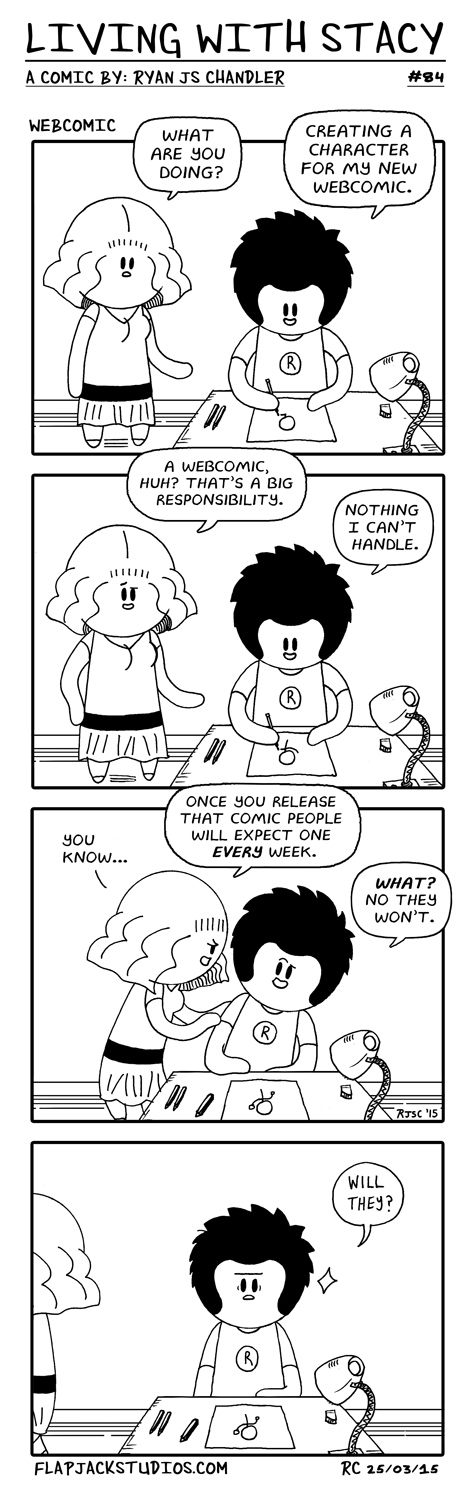 Living With Stacy #84 Webcomics Ryan and Stacy