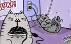 comic LWS 239 - Life With Cats - Wires