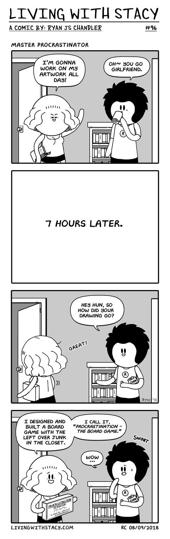 Master Procrastinator LWS #96