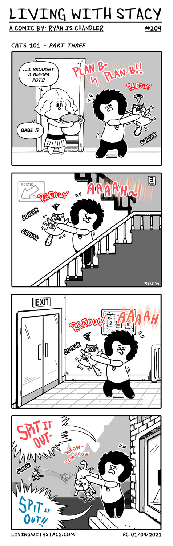 Cats 101 Comic Part 3