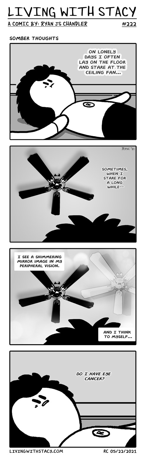 Somber Thoughts - LWS Comics #222