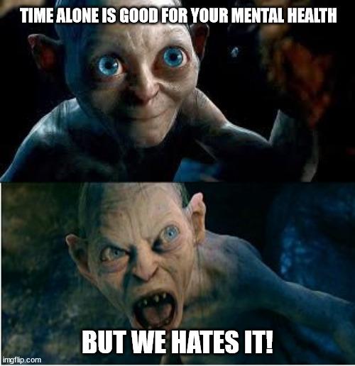 alone time meme