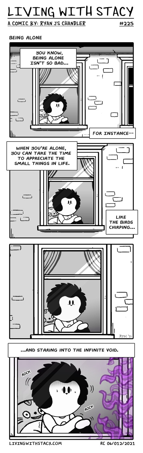 Being Alone - LWS COMICS #225