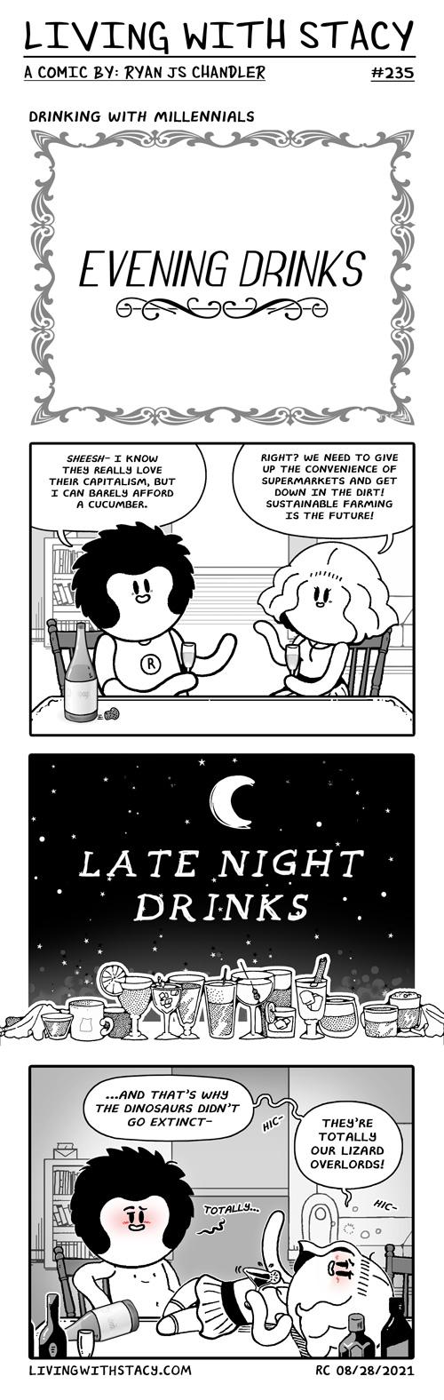 Life With Cats - Sleeping - LWS COMICS #237