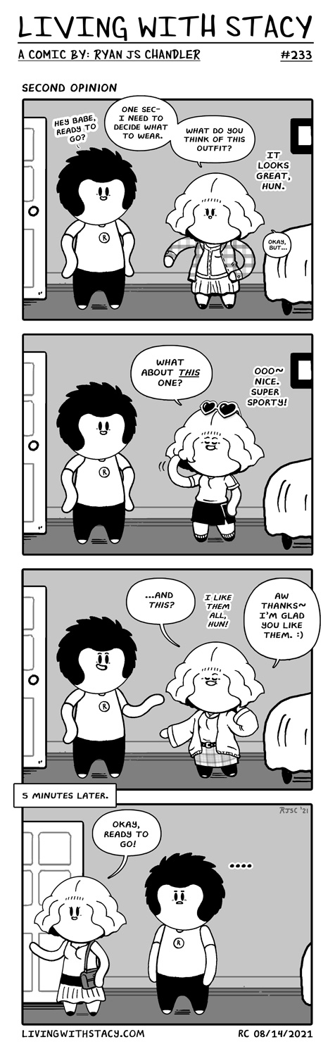 Second Opinion - Living with Stacy Comics #233
