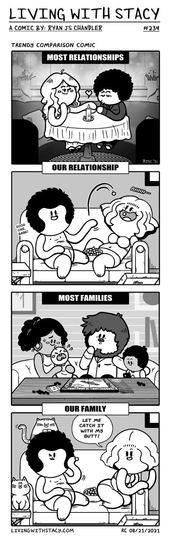 Trendy Comparison Comic - LWS Comics #234