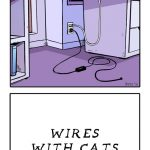 Life With Cats - Wires