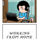 Working From Home With Cats - LWS Comics #238